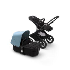 Bugaboo Fox 2 Stroller Black/Black/Vapor Blue