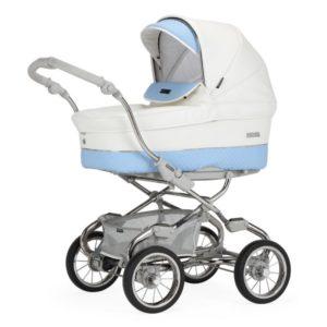 Bebecar Pack Stylo XL + Car Seat + Raincover - Iced Blue
