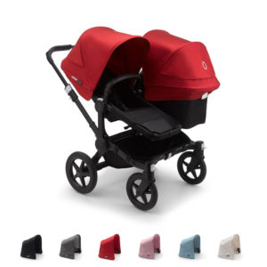 Bugaboo Donkey3 Duo with BLACK Chassis