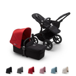 Bugaboo Donkey3 Mono with BLACK Chassis