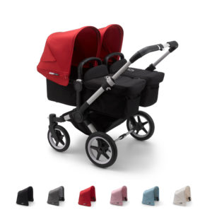 Bugaboo Donkey3 Twin with ALU Chassis