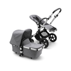 Bugaboo Cameleon³ Plus Stroller - ALU/Grey Melange/Grey Melange