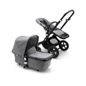 Bugaboo Cameleon³ Plus Stroller - BLACK/Grey Melange/Grey Melange