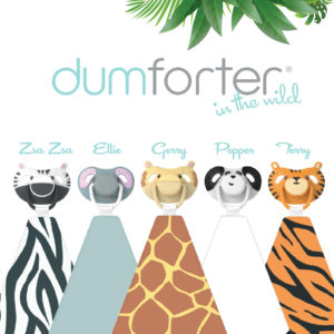 Dumforter Baby Soother Teether Comforter All-in-One