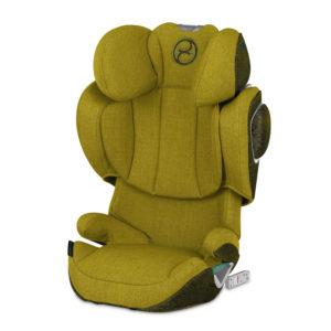 Cybex SOLUTION Z i-Fix Group 2-3 Car Seat PLUS Mustard Yellow