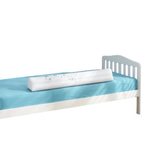 Little Chick London Bed Bolster Cotbed Size