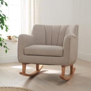Tutti Bambini Noah Rocking Chair - Stone (Natural)