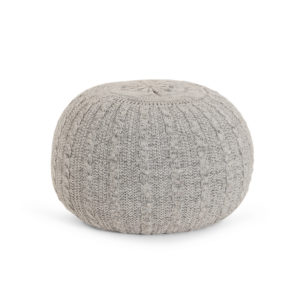 Tutti Bambini Pouffe - Pebble (Grey)