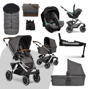 ABC Design Salsa 4 Air Asphalt ISOfix Bundle