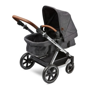 ABC Design Migno Dolls Pram Asphalt