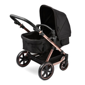 ABC Design Migno Dolls Pram Rose Gold