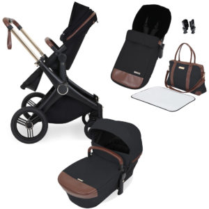 Ickle Bubba Aston Rose Puschchair with Carrycot and Accessory Pack