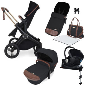 Ickle Bubba Aston Rose i-Size Travel System With Isofix Base