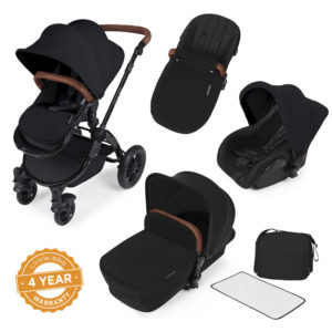 Ickle Bubba Stomp v2 i-Size All In One Travel System With Isofix Base