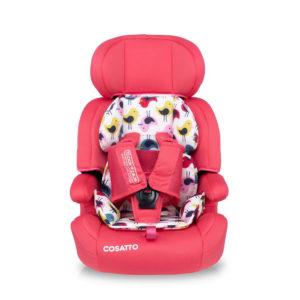Cosatto Zoomi Group 123 Anti-Escape Car Seat Two for Joy Blush