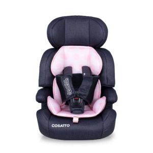 Cosatto Zoomi Group 123 Anti-Escape Car Seat Golightly Pink