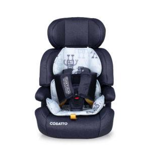Cosatto Zoomi Group 123 Anti-Escape Car Seat Silver Robot
