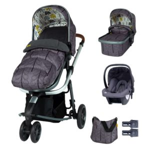 Cosatto Giggle 3 Marvellous Bundle (5pcs) - Fika Forest with Graphite Hold Car Seat