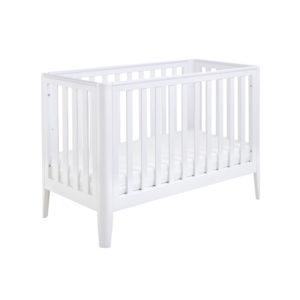 Babymore Iris Cot Bed - White