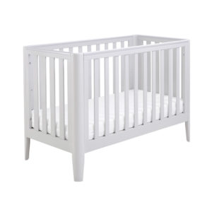 Babymore Iris Cot Bed - Grey