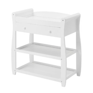 Babymore Sleigh Changing Station - White