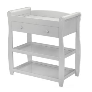 Babymore Sleigh Changing Station - Grey