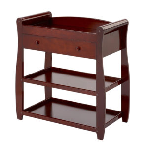 Babymore Sleigh Changing Station - Brown