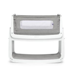 SnuzPod⁴ Bedside Crib - Dusk Grey
