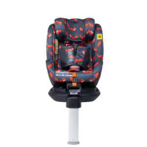 Cosatto All in All i-Rotate 0+123 Car Seat Charcoal Mister Fox
