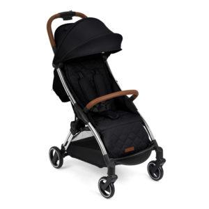 Ickle Bubba Gravity Magic Fold Stroller Black