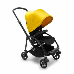 Bugaboo Bee6 Stroller - Black/Black/Lemon Yellow