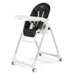 Peg Perego Prima Pappa Follow Me Highchair - Licorice