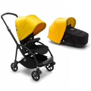 Bugaboo Bee6 Complete - Black/Black/Lemon Yellow
