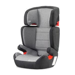 Kinderkraft Car Seat Junior Fix Black/Grey with ISOFIX System