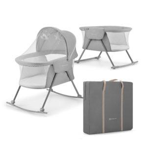 Kinderkraft Baby Cot/Cradle LOVI Grey
