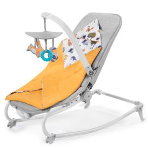 Kinderkraft Reclining Chair FELIO Forest Yellow 2020