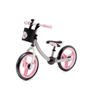 Kinderkraft Balance Bike 2WAY Next Light Pink