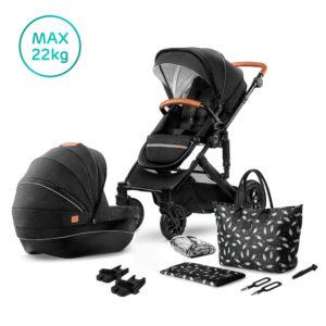 Kinderkraft Stroller PRIME 2020 with Accessories 2in1 Black