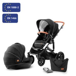 Kinderkraft Stroller Prime Lite Black 2in1