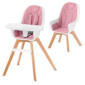 Kinderkraft Highchair 2in1 TIXI Pink