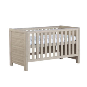 Babymore Luno Cot Bed - Oak