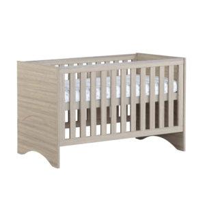 Babymore Veni Cot Bed - Oak