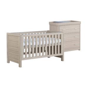 Babymore Luno Room Set 2 Pieces - Oak