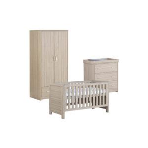 Babymore Luno Room Set 3 Pieces - Oak
