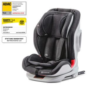 Kinderkraft Car Seat ONETO3 with ISOFIX System Black