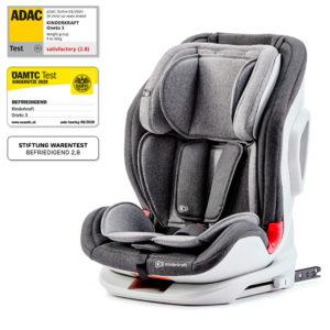 Kinderkraft Car Seat ONETO3 with ISOFIX System Black/Grey