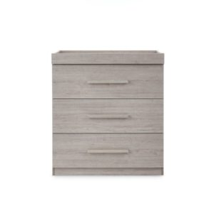 Ickle Bubba Grantham Chest of Drawers/Changer - Grey Oak