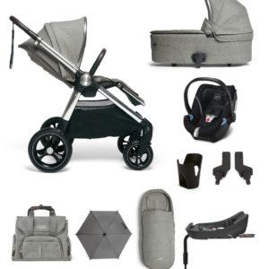 Mamas & Papas Woven Grey complete