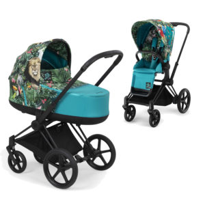 Cybex by DJ Khaled PRIAM Stroller with Carrycot We the Best