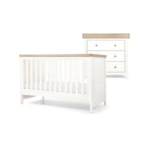 Mamas & Papas 2 piece Keswick Room Set - White/Oak